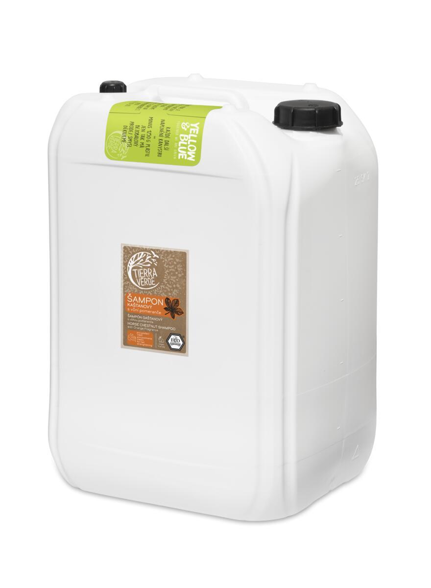 Tierra Verde – Šampon kaštanový svůní pomeranče, 25 l