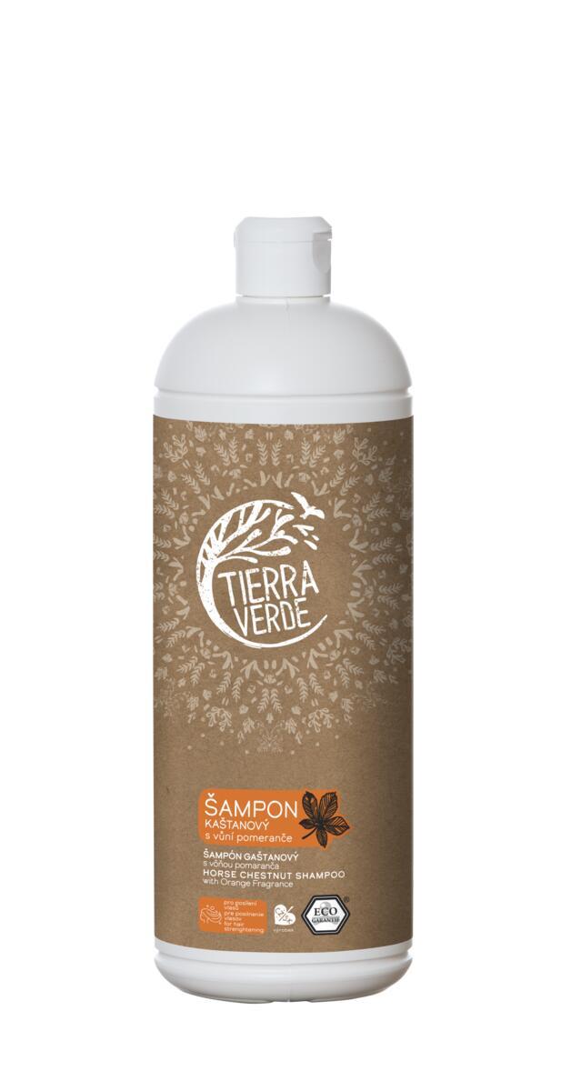 Tierra Verde – Šampon kaštanový svůní pomeranče, 1 l