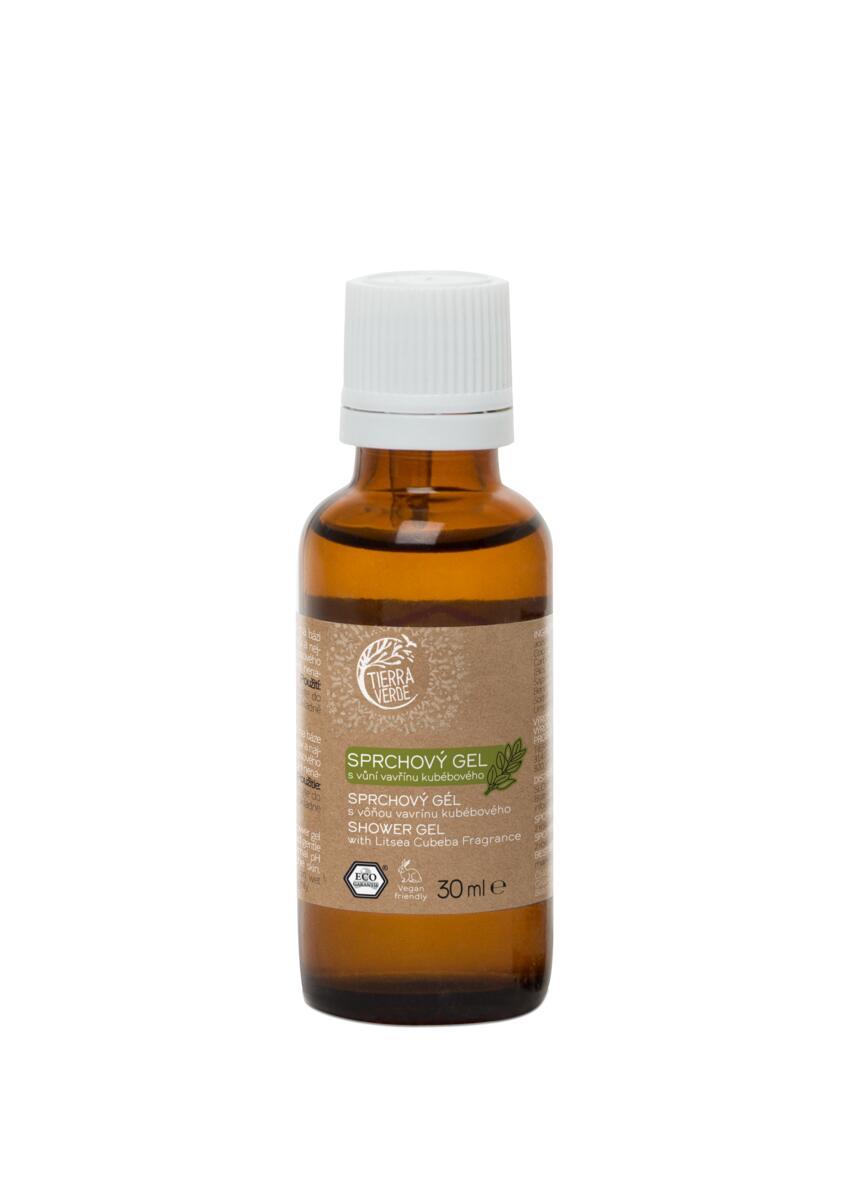 Tierra Verde – Sprchový gel svůní vavřínu kubébového, 30 ml