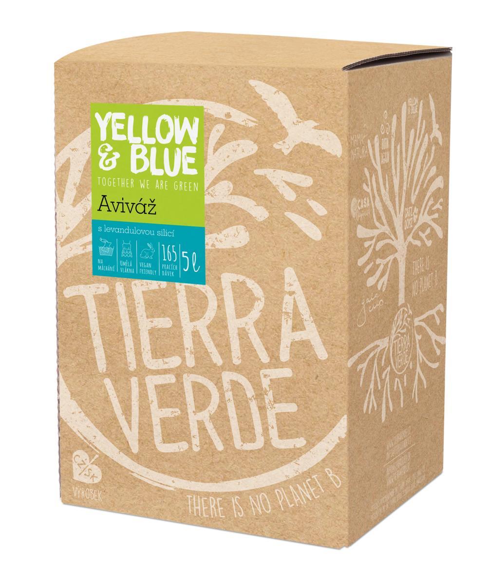 Yellow&Blue Aviváž (bag-in-box 5 l)