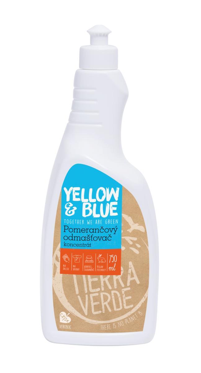 Yellow&Blue Pomerančový odmašťovač – koncentrát (lahev 750 ml)