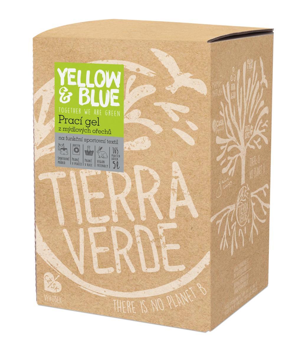 Yellow&Blue Prací gel sport (bag-in-box 5 l)