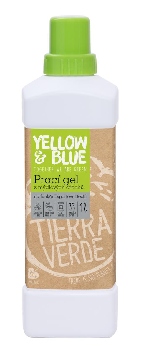 Yellow&Blue Prací gel sport (lahev 1 l)