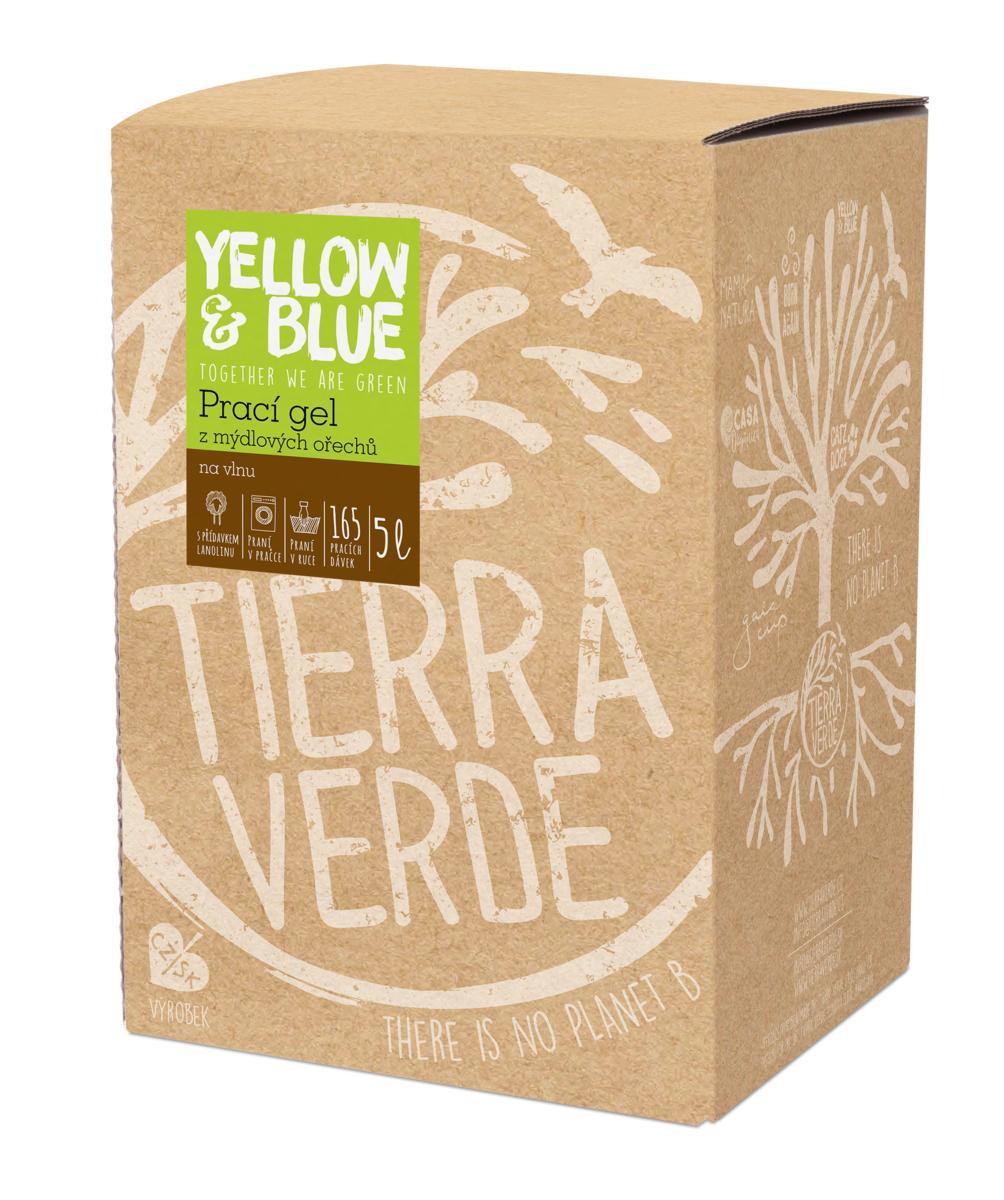 Yellow&Blue Prací gel vlna (bag-in-box 5 l)
