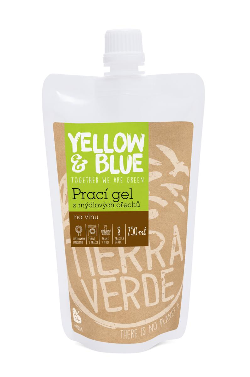 Yellow&Blue Prací gel vlna (sáček uzávěr 250 ml)