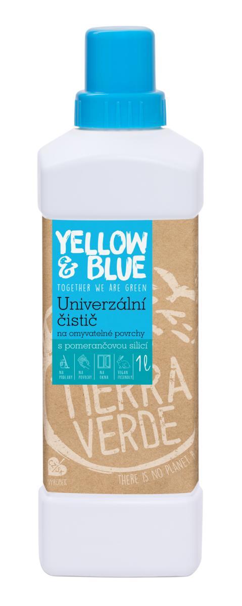 Yellow & Blue univerzální čistič pro domácnost láhev 1 l