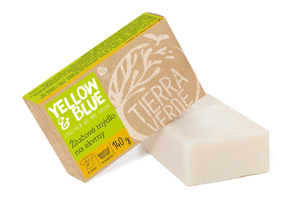 Tierra Verde žlučové mýdlo Yellow & Blue 140 g